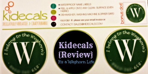 Kidecals {Review}