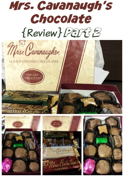 Mrs. Cavanaugh's Chocolate {Review} Part 2