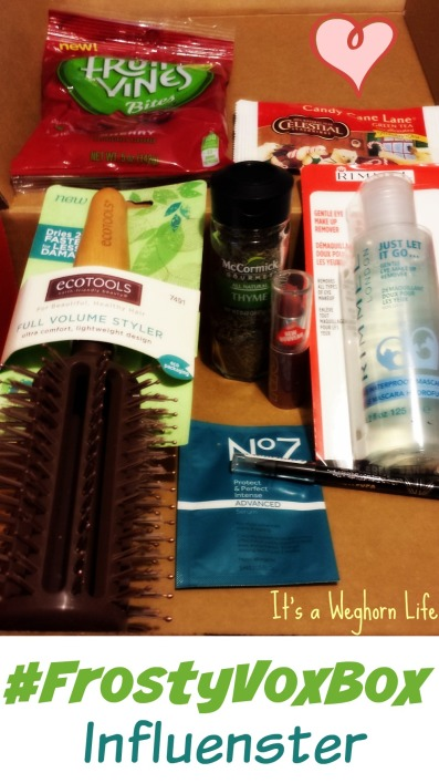 My #FrostyVoxBox from Influenster