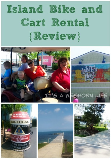 Island Bike and Cart Rental {Review}