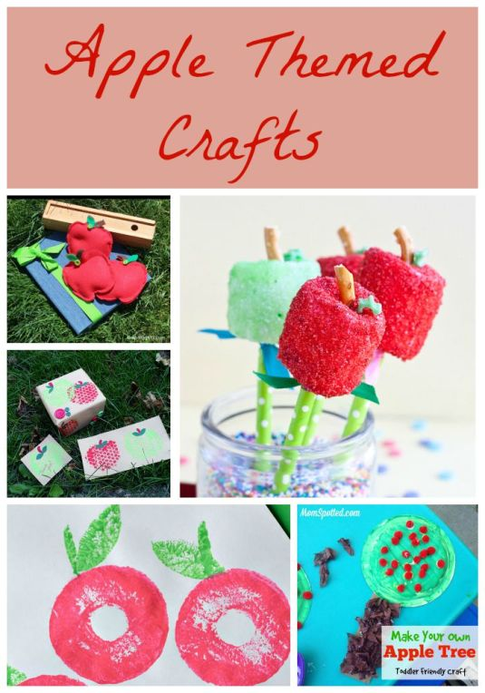 Apple Themed Crafts